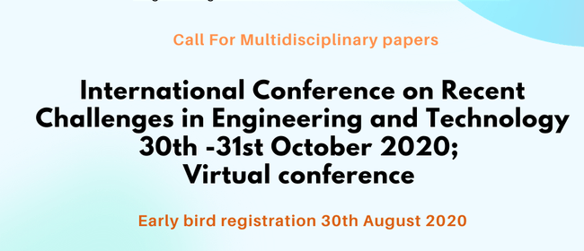 International Conference on Recent Challenges in Engineering