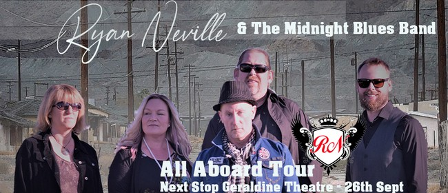 Ryan Neville & The Midnight Blues band - All A Board Tour