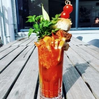 Backyard Bloody Mary's