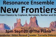New Frontiers - Resonance Ensemble