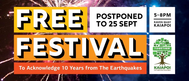 Festival To Acknowledge 10 Years From The Earthquakes