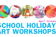School Holiday Art Workshops for Kids & Teens