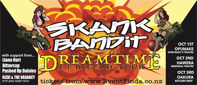Skank Bandit BUTLERS REEF Dreamtime EP Release Tour
