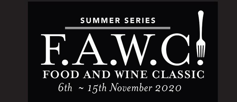 F.A.W.C! Through the Grapevine: CANCELLED