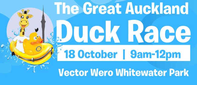 The Great Auckland Duck Race: CANCELLED