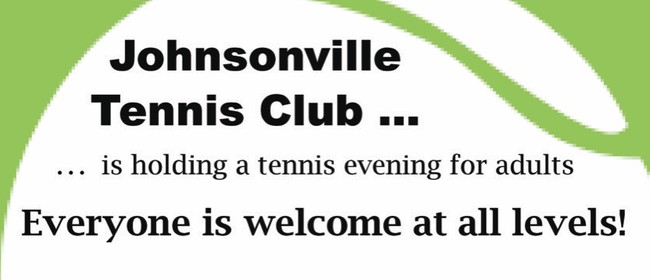 Give Tennis a Go - Open Evening for Adults: POSTPONED