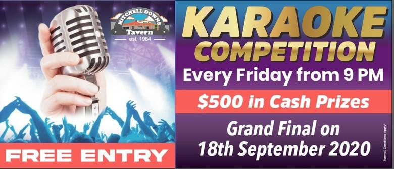Mitchell Downs Karaoke - 2020 Amateur Karaoke Competition Fi