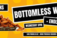 $15 Bottomless Wings + Fries