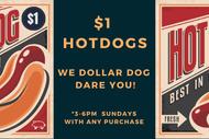 The Pig's $1 Dog Sunday
