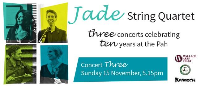 Jade String Quartet at the Pah – Concert Three