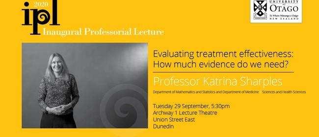 Inaugural Professorial Lecture – Professor Katrina Sharples
