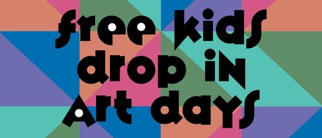 Kids Drop-in Art Day