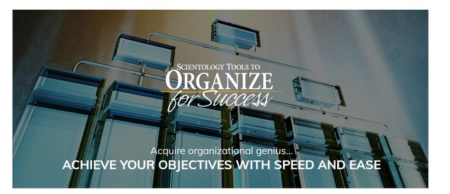 Scientology Tools to Organize for Success Course