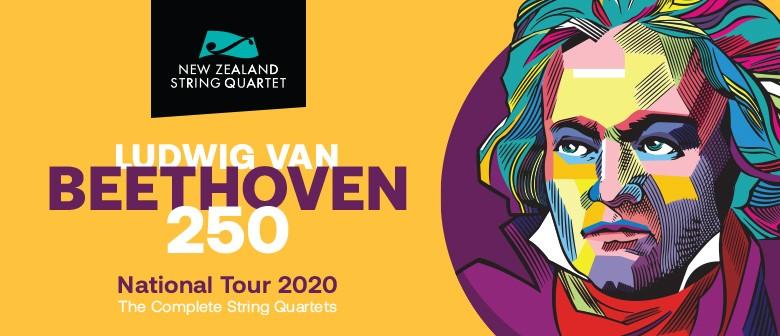 NZ String Quartet - Beethoven: Illuminator: NEW DATE 14 NOV
