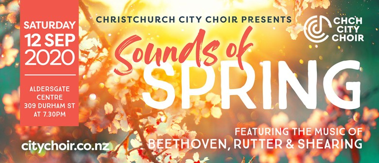 Sounds of Spring: CANCELLED