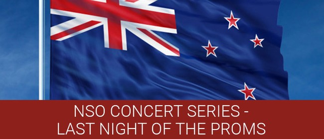 Nelson Symphony Orchestra: Last Night of the Proms: CANCELLED