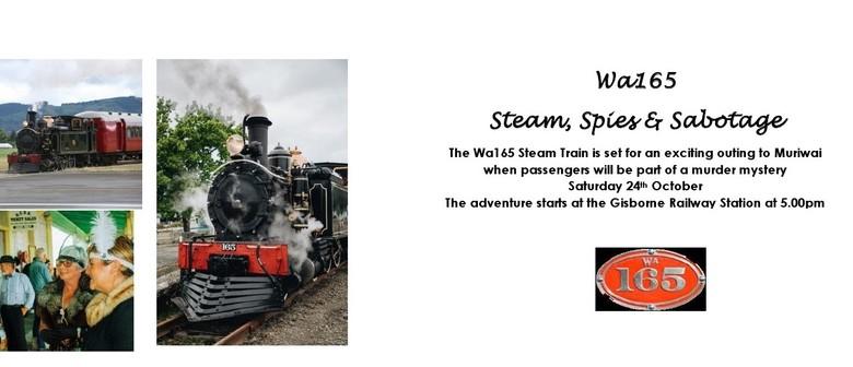 Steam, Spies and Sabotage
