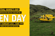 Central Hawke's Bay Rescue Helicopter Open Day: CANCELLED
