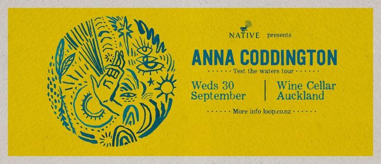 Anna Coddington Test The Waters Tour
