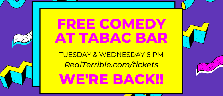 Live Comedy at Tabac Bar