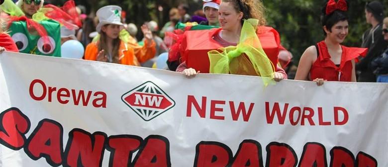 Orewa New World Santa Parade 2020