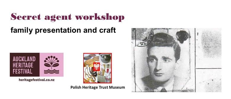 AKL Heritage Festival: Secret Agent Workshop