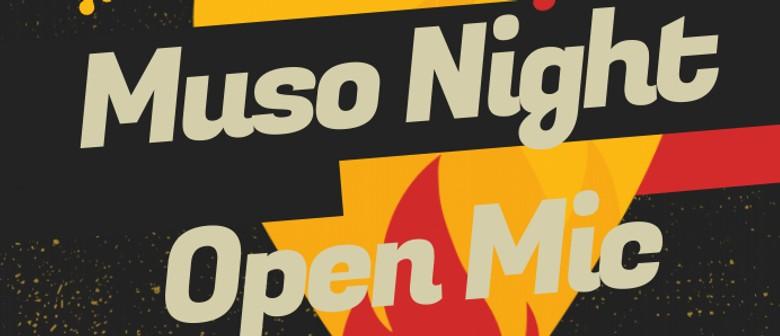 Muso Night, Jam Night, Open Mic