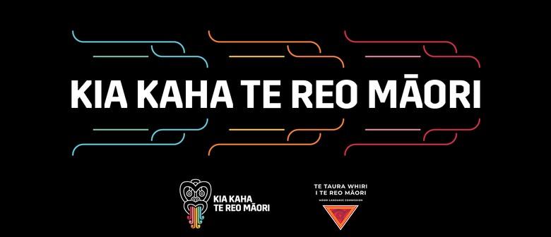 Te Wiki o te Reo Māori at Dunedin Public Libraries