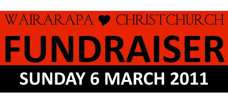 Wairarapa 4 Christchurch Fundraiser