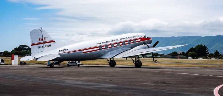 DC-3 Scenic Flights at Whanganui Vintage Weekend 2021