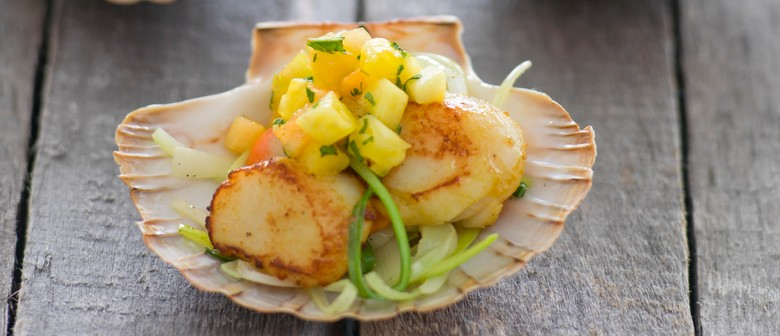 Queen of Seafood – Scallops - Seafood Cooking Class