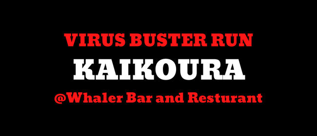 Virus Buster Run: Kaikoura