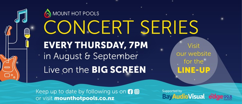 Mount Hot Pools Concert Series - Flume