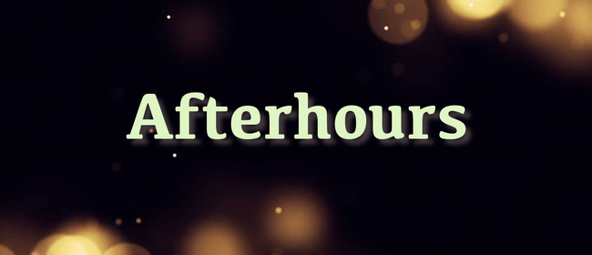 Afterhours at Cafe 39