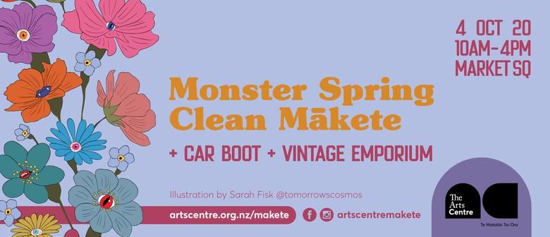 Monster Spring Clean Mākete