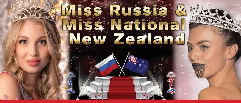 Miss Russia NZ and Miss National NZ 2021
