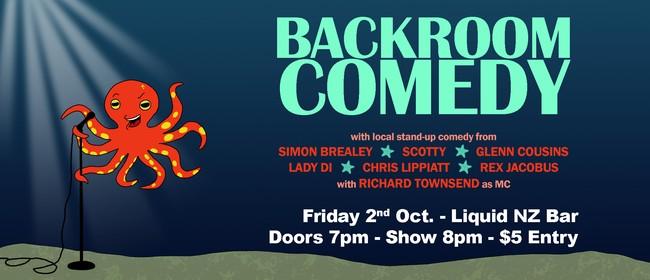 Backroom Comedy October 2020