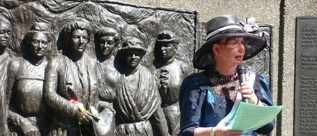 Tour Christchurch with Kate Sheppard - Historic Guided Tour
