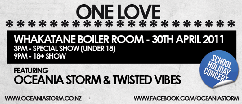 Oceania Storm & Twisted Vibes - One Love