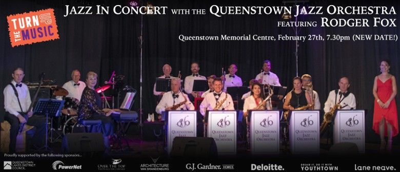Queenstown Jazz Orchestra Performs with Rodger Fox