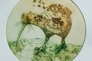 Intaglio Etching With Lisz Bodsworth