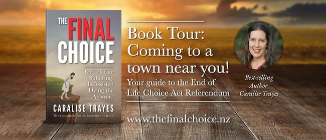 The Final Choice Book Tour - Nelson Event 2