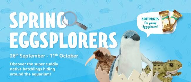 'Spring Eggsplorers' School Holiday Activity