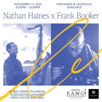 Nathan Haines x Frank Booker