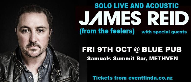 James Reid (the feelers) Samuels Summit Bar Blue Pub Methven: POSTPONED