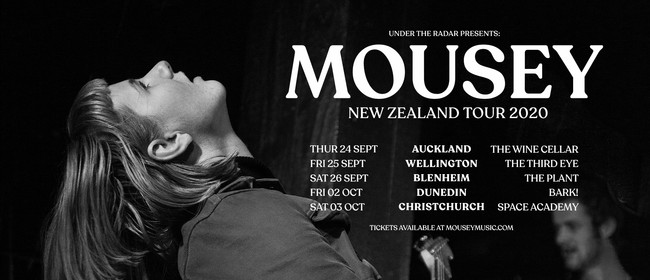 Mousey - NZ Tour 2020