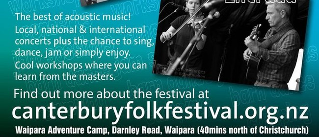 45th Canterbury Folk Festival