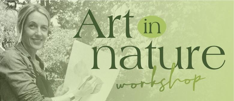 Beginners nature journal workshop