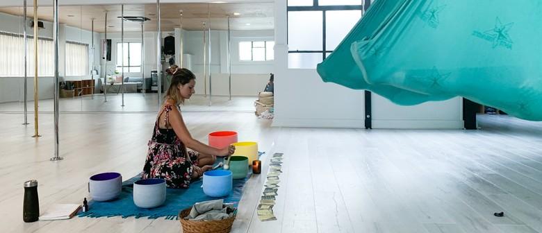 Floating Meditation with Sound Bowls