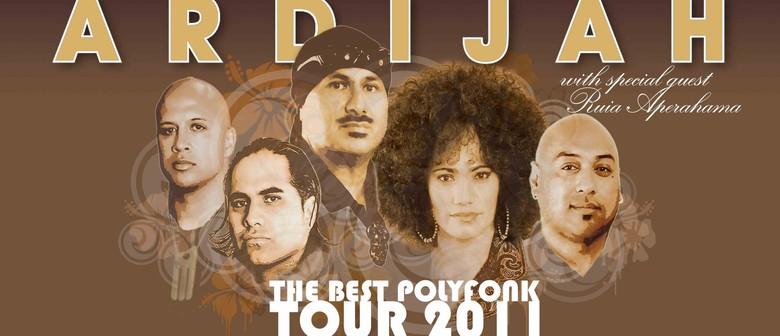 Ardijah - The Best Poly Fonk Tour 2011